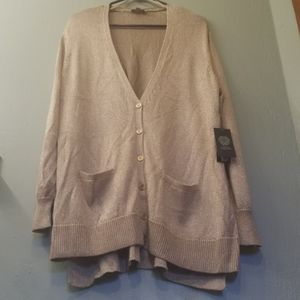 NWT 3x Gold Vince Camuto cardigan
